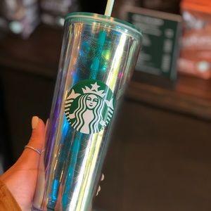 Starbucks mermaid 🧜♀️ iridescent venti cup